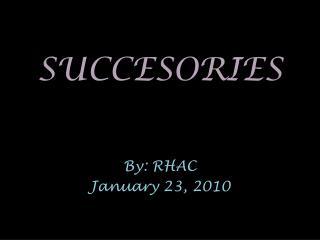 SUCCESORIES