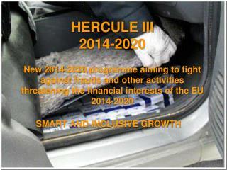 HERCULE III 2014-2020