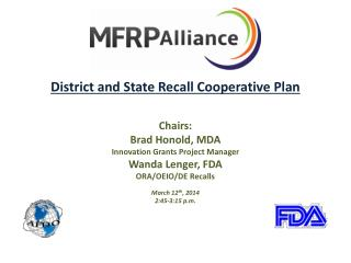 District and State Recall Cooperative Plan