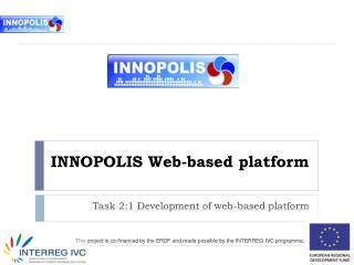 INNOPOLIS Web-based platform
