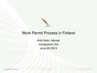 Work  Permit  Process  in Finland
