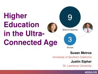 Higher Education  in  the  Ultra -Connected Age