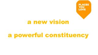 a new vision a powerful constituency
