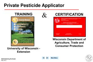 Private Pesticide Applicator