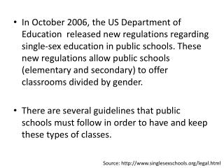 Source: http://www.singlesexschools.org/legal.html
