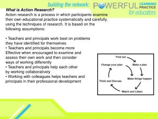 What is Action Research? Action research is a process in which participants examine