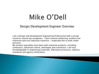 Mike O'Dell