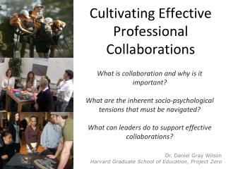 Cultivating Effective Professional Collaborations