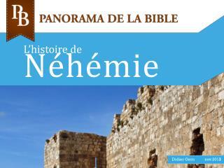 L'histoire de Néhémie