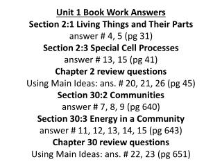 Sec. 2:1 (Unit 1) Book Work # 4 & 5 (pg 31)