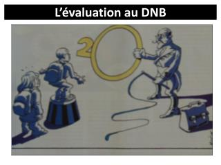 L'évaluation au DNB