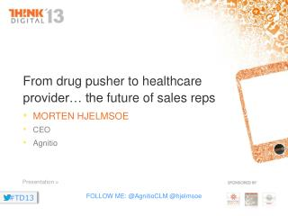 From drug pusher to healthcare  provider… the  future of sales reps