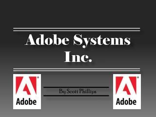 Adobe Systems Inc.