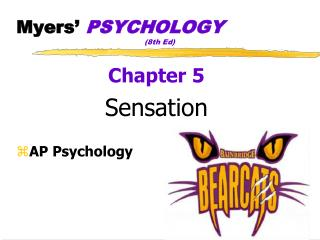 Myers�  PSYCHOLOGY (8th  Ed)