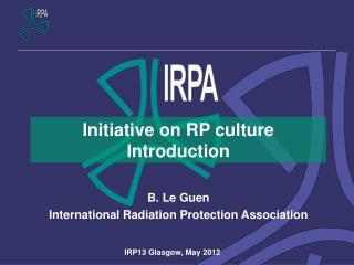 Initiative on  RP  culture Introduction