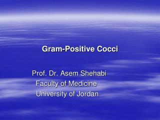Gram-Positive Cocci