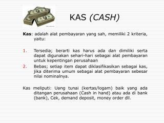 KAS CASH