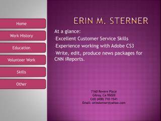 Erin m. Sterner