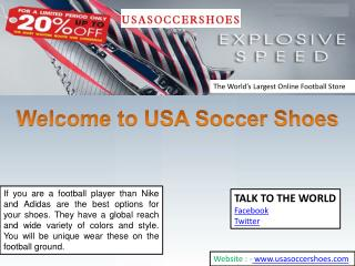 Cheap Soccer Shoes by USA Soccer Shoes