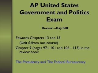 AP United States Government and Politics Exam