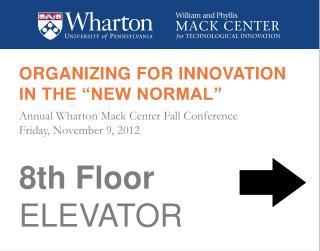 8th Floor ELEVATOR