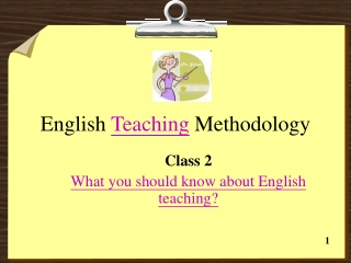 Teaching Techniques and Strategies in Foreign Languages