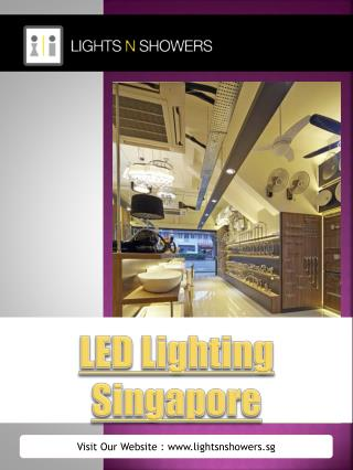 Led Downlights Singapore