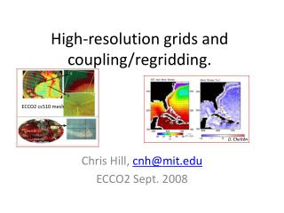 High-resolution grids and  coupling/ regridding .