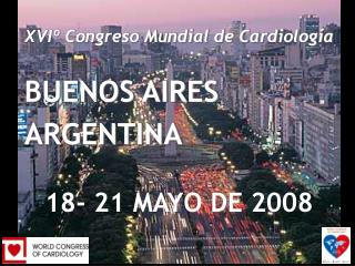 XVIth World Congress of Cardiology