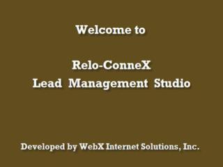 WebX Internet Solutions introduces its newest web-base application