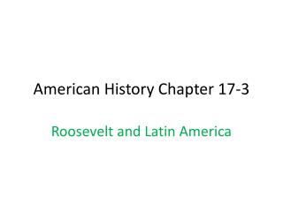 American History Chapter 17-3