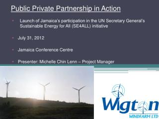 Public Private  Partnership in Action