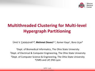 Multithreaded Clustering for Multi-level  Hypergraph  Partitioning