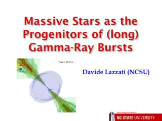 Massive Stars as the Progenitors of (long) Gamma-Ray Bursts