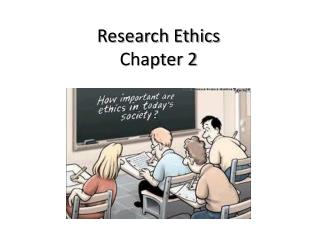 Research Ethics Chapter 2