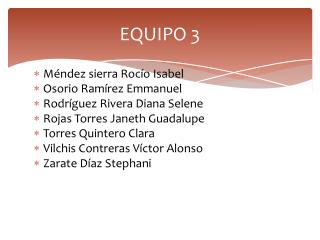 EQUIPO 3