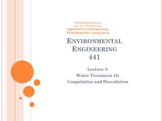 Environmental  Engineering  441