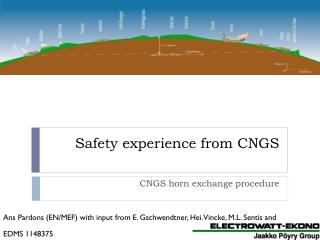 Safety experience from CNGS