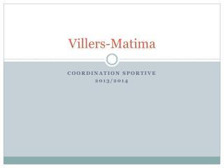 Villers- Matima