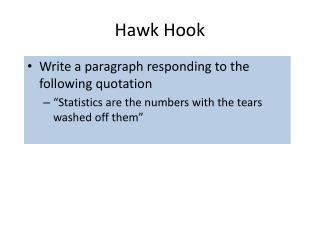 Hawk Hook