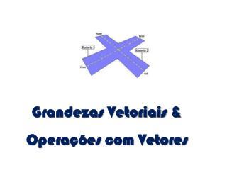Grandezas Vetoriais & Opera��es com Vetores