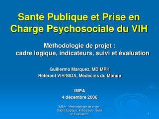Sant  Publique et Prise en Charge Psychosociale du VIH