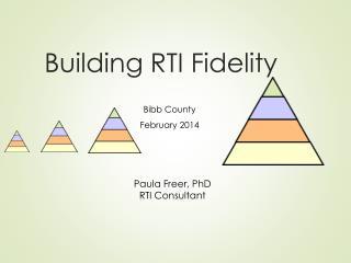 Building RTI Fidelity