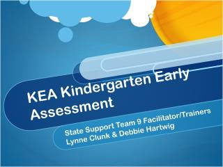 KEA Kindergarten Early Assessment