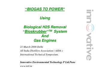 PowerPoint Presentation - India Distillers