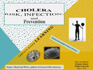 Cholera risk, Infection,  and