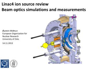 Linac4 ion source review Beam optics simulations and measurements