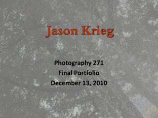 Jason Krieg