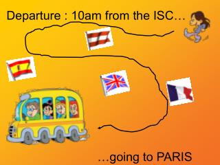 Departure : 10am from the ISC…
