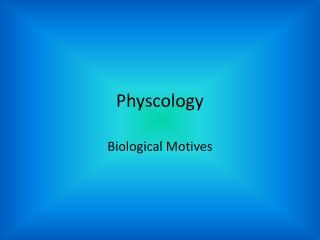 Physcology